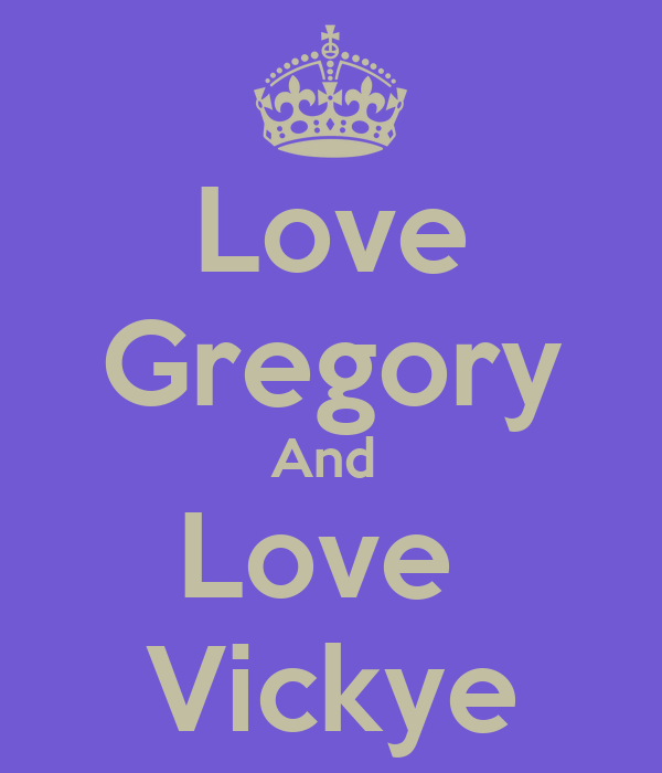 Love Gregory And  Love  Vickye