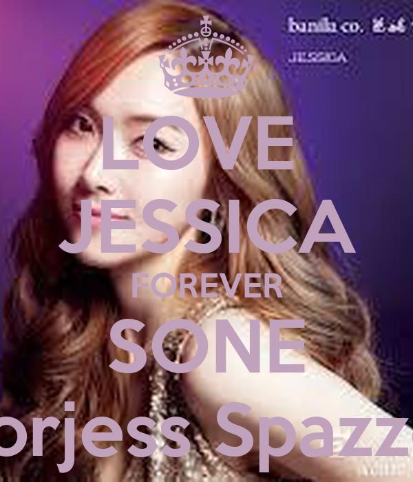LOVE  JESSICA FOREVER SONE Gorjess Spazzer