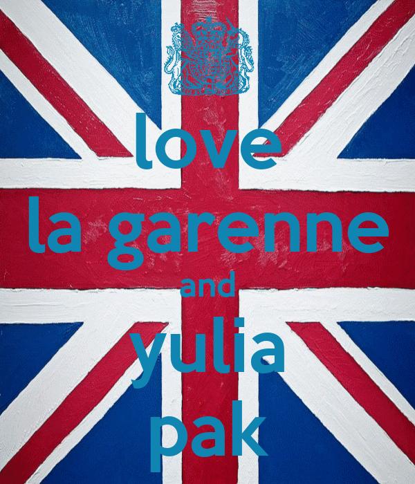 love la garenne and yulia pak