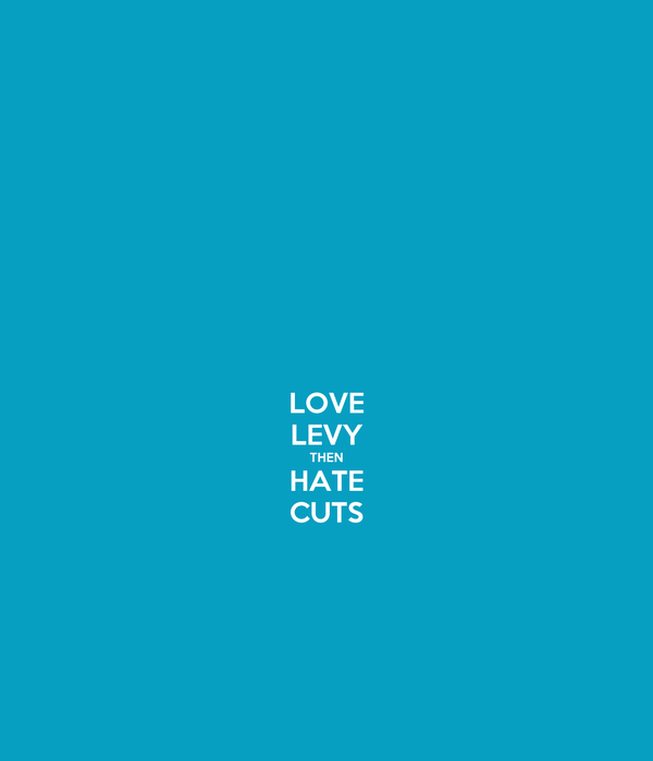 LOVE LEVY THEN HATE CUTS