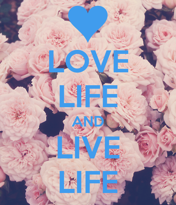 LOVE LIFE AND LIVE LIFE