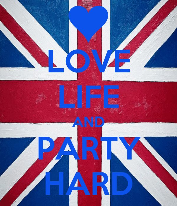 LOVE LIFE AND PARTY HARD