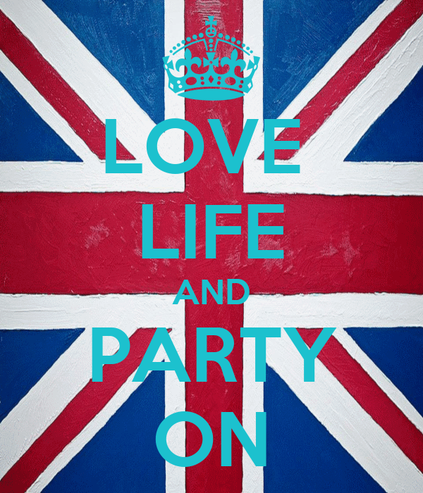 LOVE  LIFE AND PARTY ON