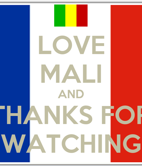 LOVE MALI AND THANKS FOR WATCHING