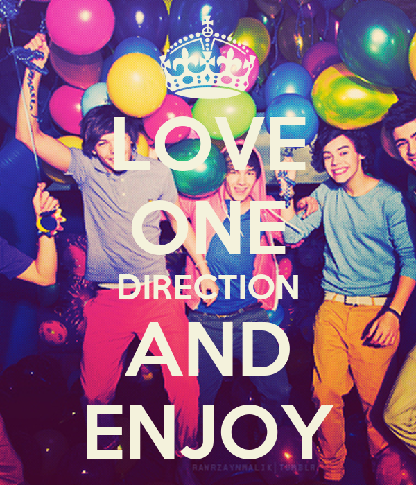 LOVE ONE DIRECTION AND ENJOY