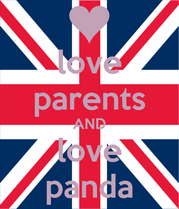 love parents AND love panda