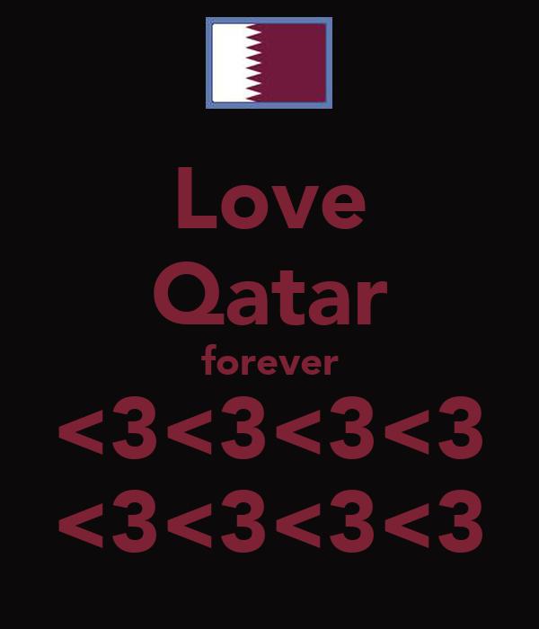 Love Qatar forever <3<3<3<3 <3<3<3<3