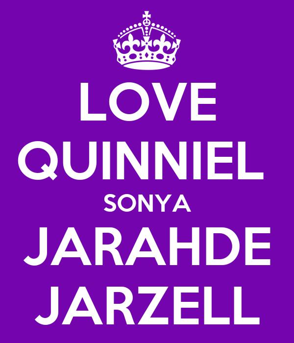 LOVE QUINNIEL  SONYA JARAHDE JARZELL