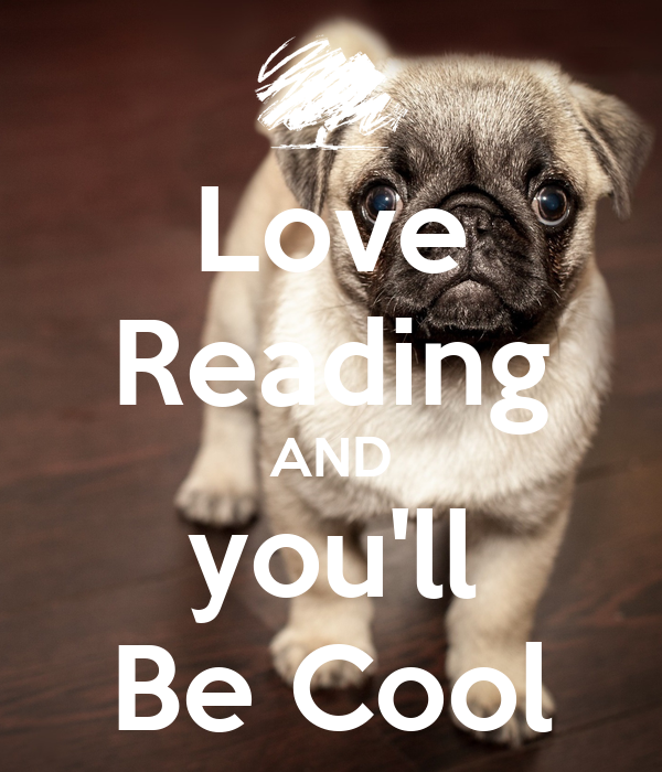 Love Reading AND you'll Be Cool