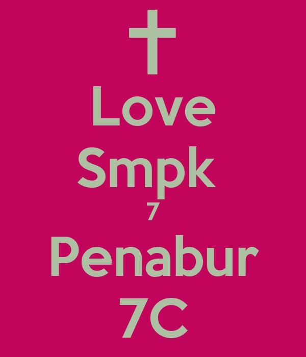 Love Smpk  7 Penabur 7C