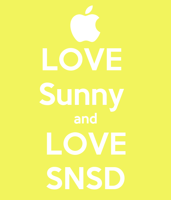 LOVE  Sunny  and LOVE SNSD