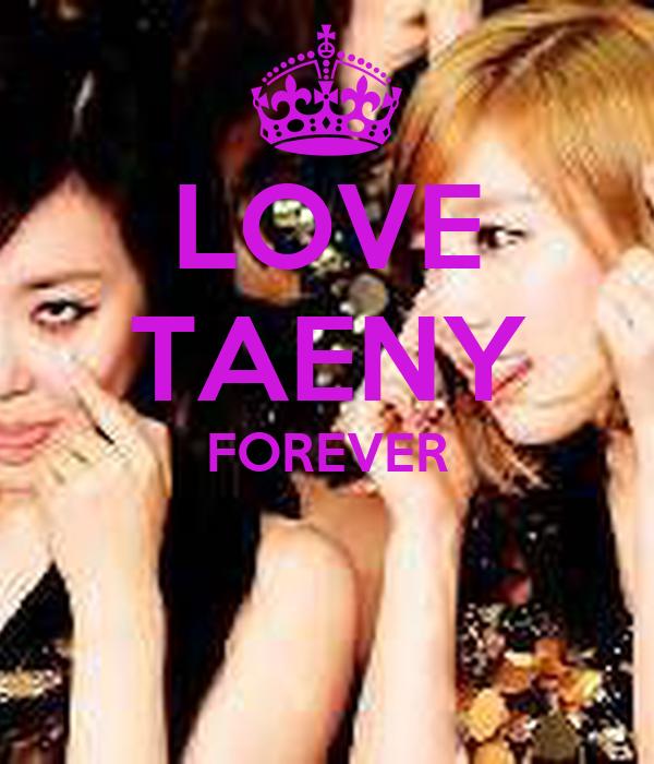 LOVE TAENY FOREVER