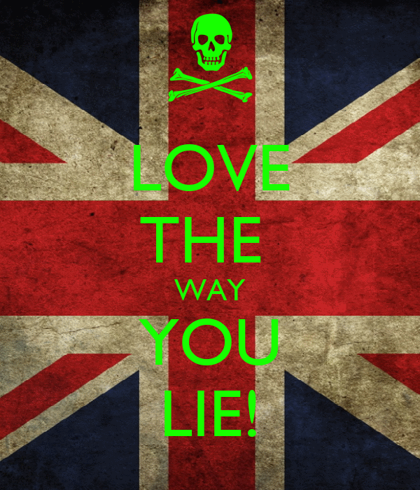 LOVE THE  WAY YOU LIE!