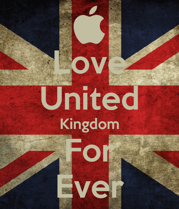 Love United Kingdom For Ever