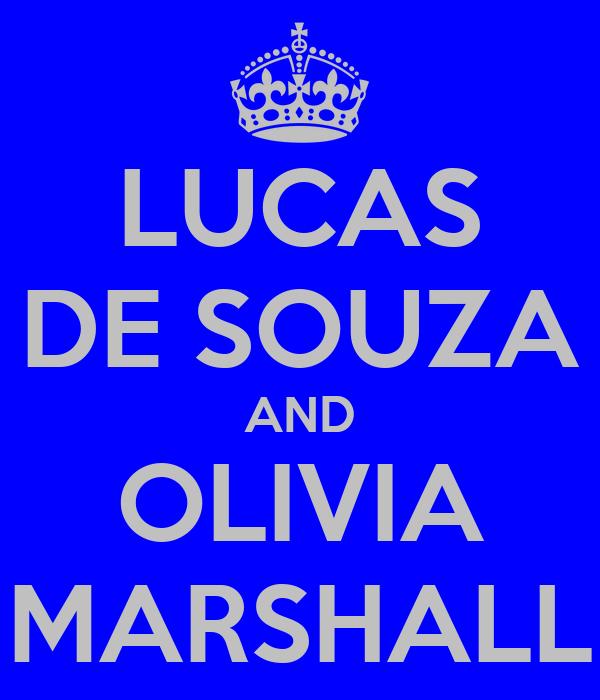 LUCAS DE SOUZA AND OLIVIA MARSHALL
