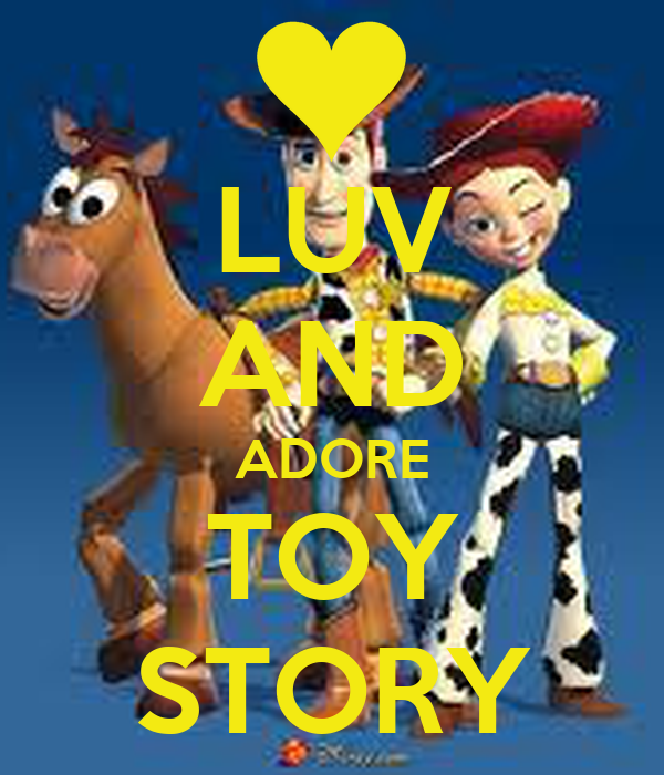 LUV AND ADORE TOY STORY