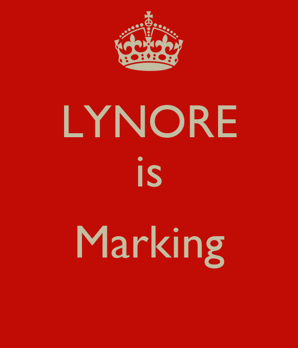 LYNORE is  Marking