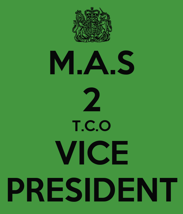M.A.S 2 T.C.O VICE PRESIDENT
