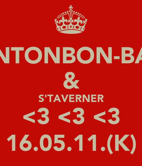 M'LINTONBON-BAKER & S'TAVERNER <3 <3 <3 16.05.11.(K)