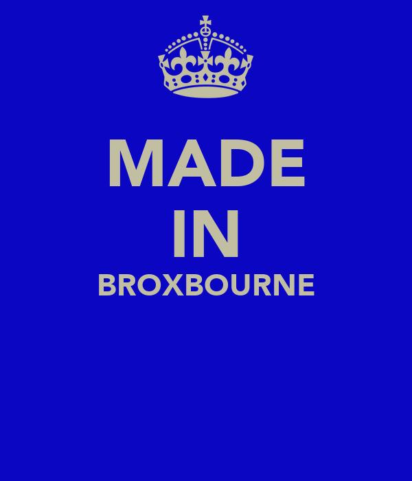 MADE IN BROXBOURNE