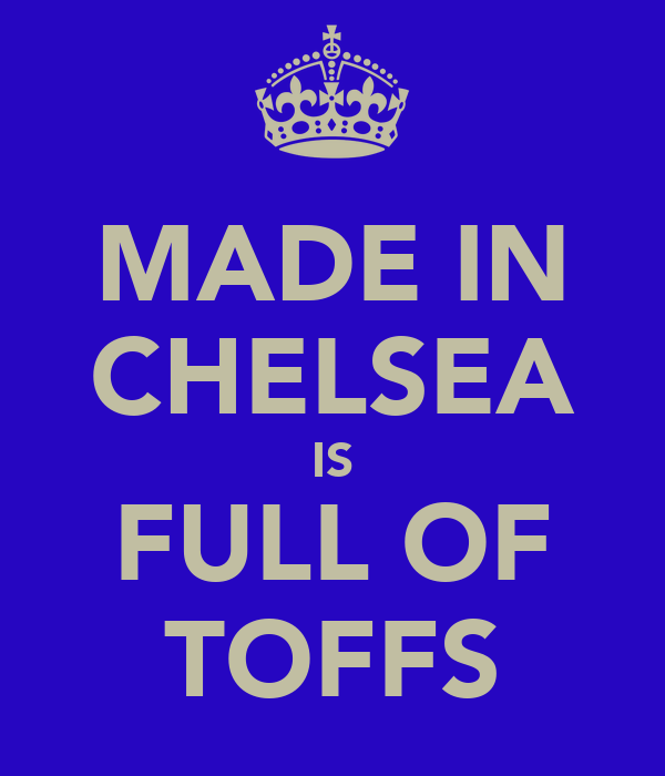 MADE IN CHELSEA IS FULL OF TOFFS