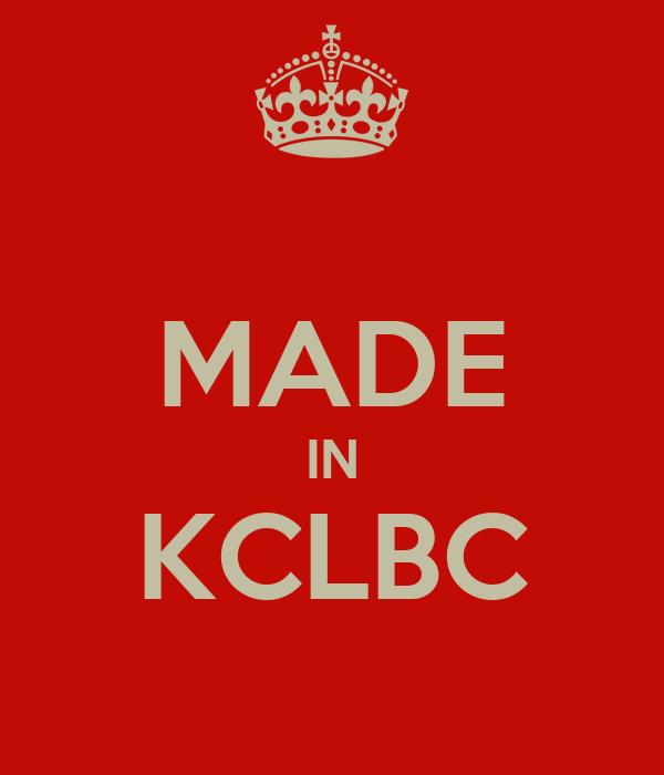 MADE IN KCLBC