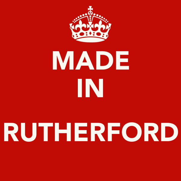 MADE IN  RUTHERFORD