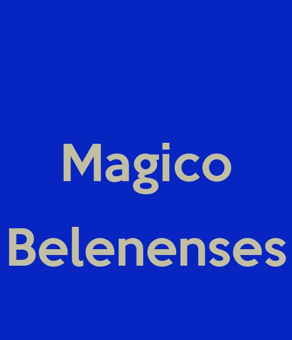 Magico  Belenenses