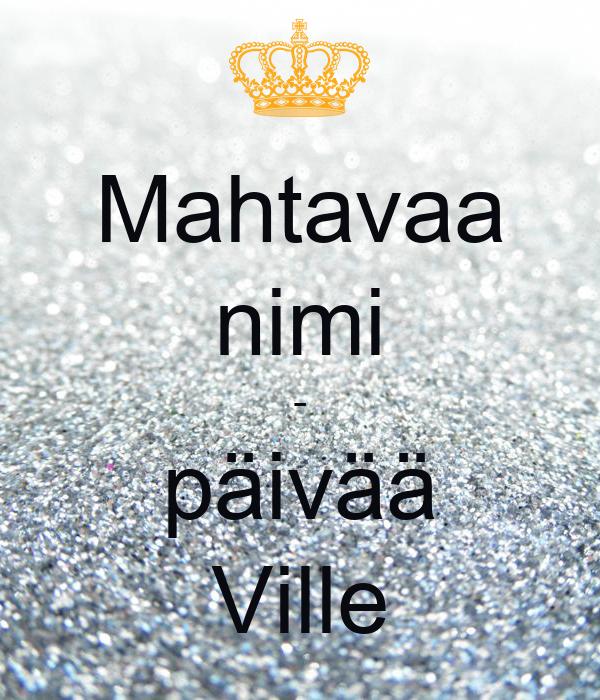 Ville Nimi