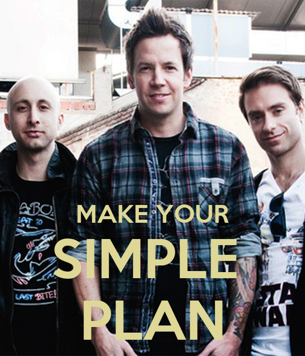 MAKE YOUR SIMPLE PLAN Poster | alejandro_guerra | Keep ...