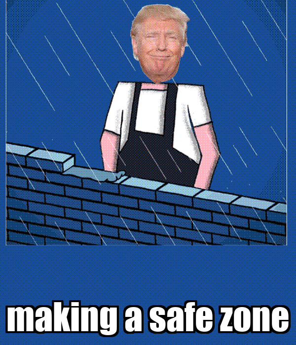 making a safe zone