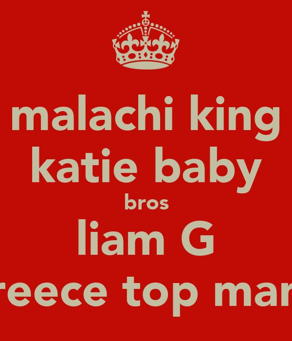 malachi king katie baby bros liam G reece top man