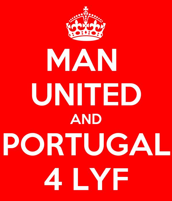 MAN  UNITED AND PORTUGAL 4 LYF