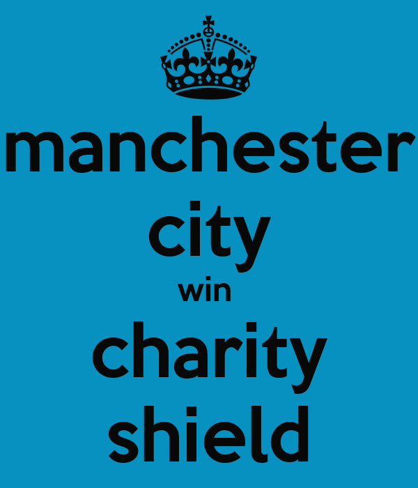 manchester city win  charity shield