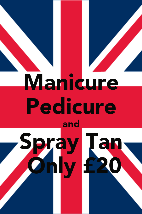 Manicure Pedicure and Spray Tan  Only £20