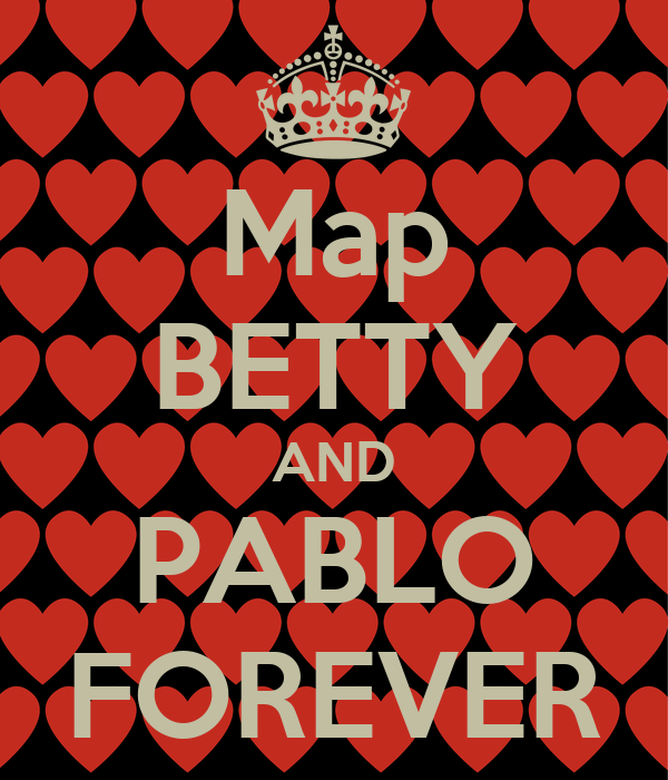 Map BETTY AND PABLO FOREVER