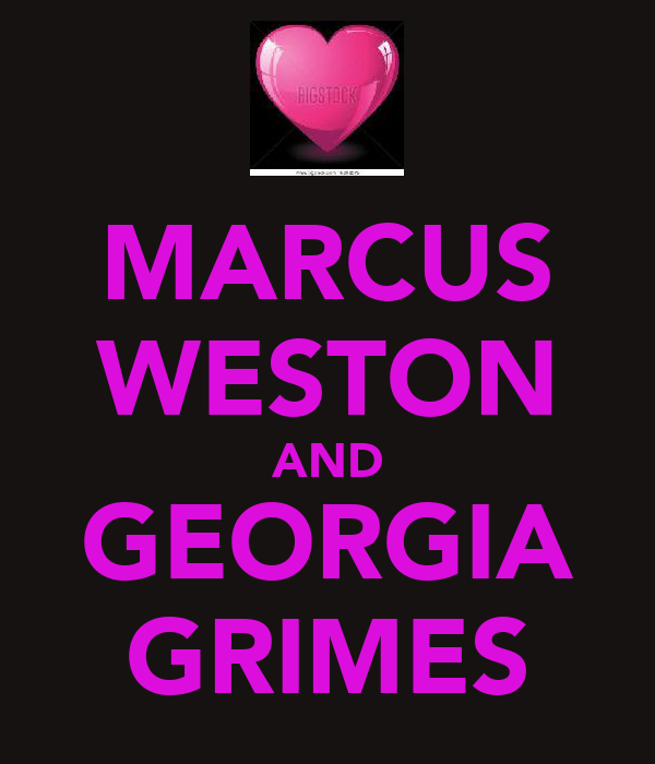 MARCUS WESTON AND GEORGIA GRIMES