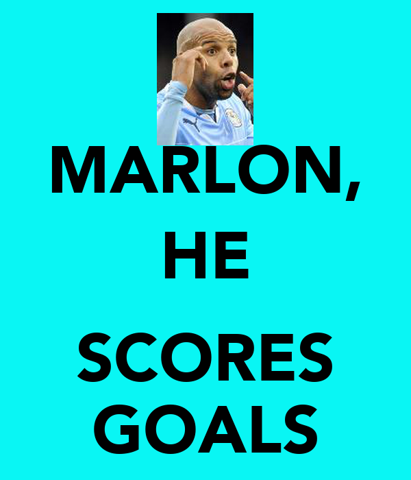 MARLON, HE  SCORES GOALS