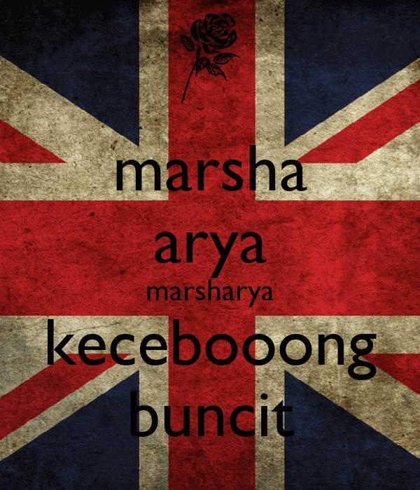marsha arya marsharya kecebooong buncit