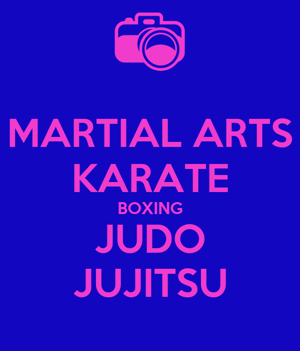 MARTIAL ARTS KARATE BOXING JUDO JUJITSU