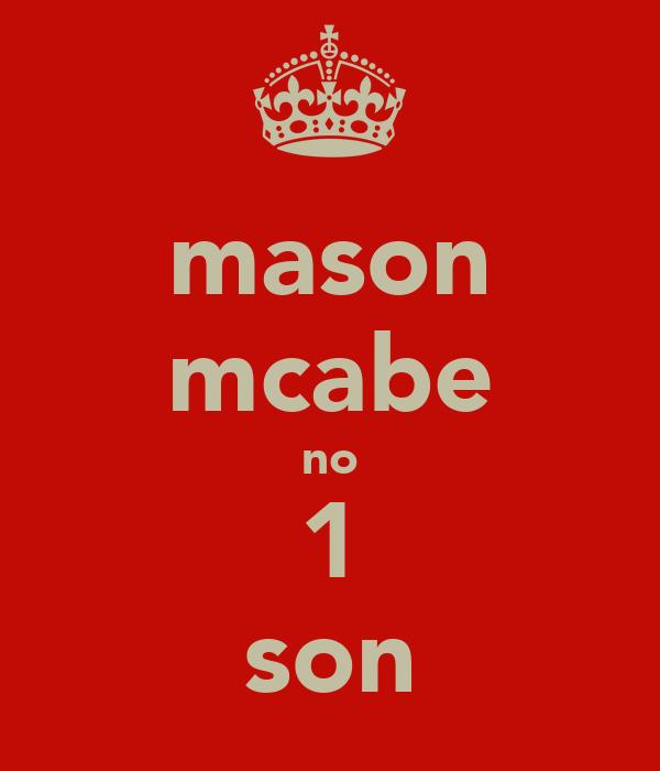 mason mcabe no 1 son