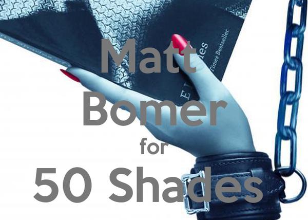 Matt  Bomer for 50 Shades
