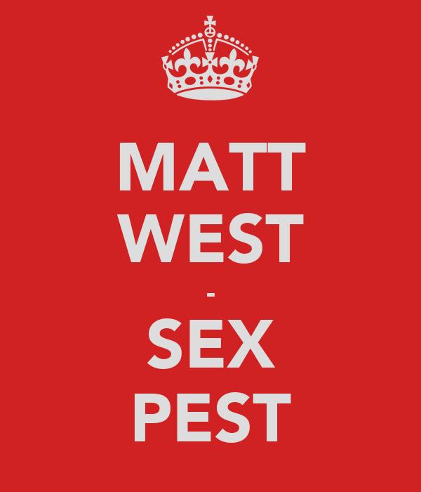 MATT WEST - SEX PEST