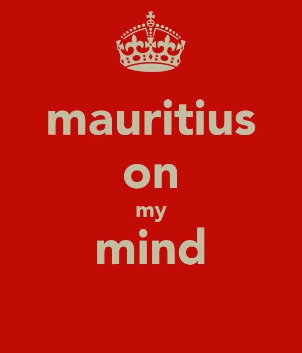 mauritius on my mind