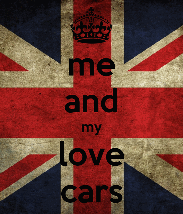 me and my love cars