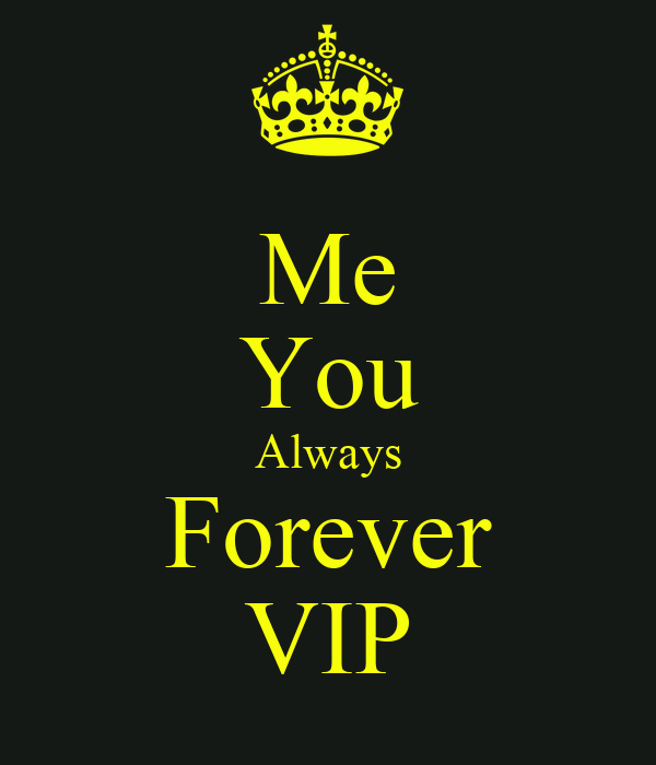 Me You Always Forever VIP