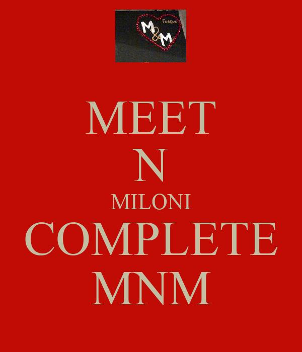 MEET N MILONI COMPLETE MNM