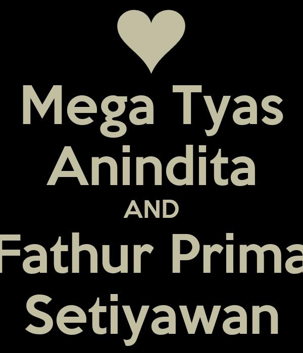mega tyas anindita and fathur prima setiyawan poster