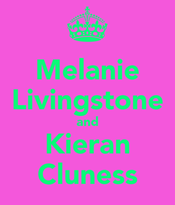 Melanie Livingstone and Kieran Cluness