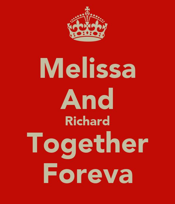 Melissa And Richard Together Foreva